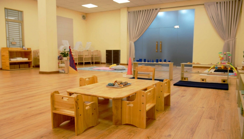 Phòng học Montessori